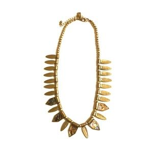American Eagle Outfitters Brass Boho Necklace